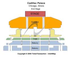 Cadillac Palace Tickets and Cadillac Palace Seating Chart Buy