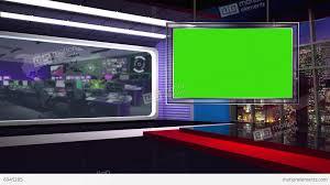 News TV Studio Set 62