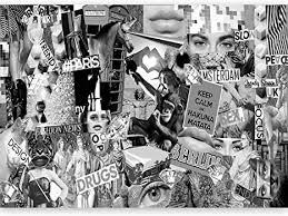 murando fototapete collage 500x280 cm vlies tapeten