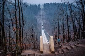 100 Water Bridge Germany Geierlay S Longest Suspension Travel