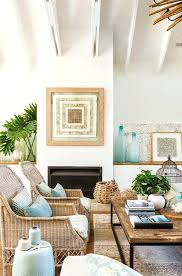 Beach Themed Living Room Beautiful Decorating