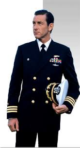 At what rank do U S Navy uniforms be e the kind that officers