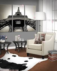 How to Create a Paris Themed Living Room with an Authentic