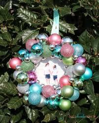 DIY Ornament Picture Frames