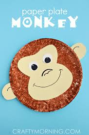 Paper Plate Monkey Craft For Kids To Make