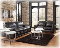 Levon Charcoal Sofa And Loveseat by Living Room Set