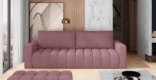 3er sofa lazaro mit schlaffunktion graubraun