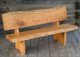 Fabulous Outdoor Wood Benches With Backs 25 Best Ideas About Bench Intended For Back Prepare 6