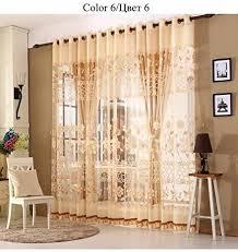 luxus gardinen set für wohnzimmer europäischen royal