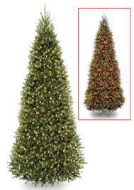8 Ft Pre Lit Multicolor Christmas Tree by Dual Light Christmas Tree Christmas Lights Decoration