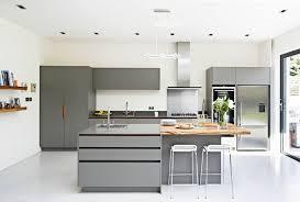 Kitchen Designs Full Marble Island Dark Wood Floors White Cabinets