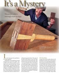 roy demonstrating the use of a coffin roy underhill and the