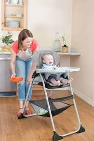 Evenflo High Chair Table Combo by Graco Slim Snacker High Chair In Whisk Buybuybaby