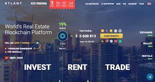 100 Atlant ICO Real Estate Blockchain Review Steemit