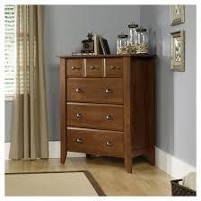 Sauder Shoal Creek Dresser In Jamocha Wood by Shoal Creek 4 Drawer Chest Oiled Oak Sauder Target