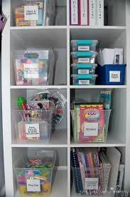 A Budget Friendly Solution For Storing And Organizing Your Kids Craft Supplies When They Grow Beyond