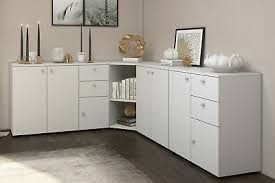 eck kommode mit led ecke holz indiana highboard wohnzimmer