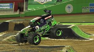 Monster Jam Miami Highlights - Stadium Championship Series 1 - Feb ...