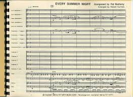 every summer by composer performer jazz ensemble big