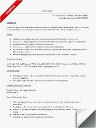 Career Objective For Resume For Experienced Software Engineers Free