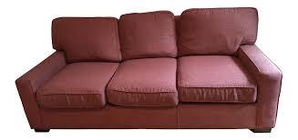 mitchell gold bob williams 3 seater queen sleeper sofa chairish