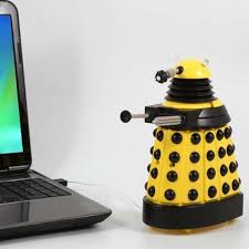 Dr Who Dalek Christmas Tree by Doctor Who Usb Desk Protector Yellow Dalek Bbc Shop
