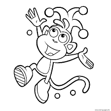 Boots Of Dora Printable S1d44 Coloring Pages