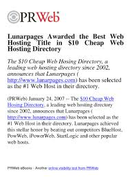 Lunarpages Awarded The Best Web Hosting Title In $10 Cheap ... Prweb Coupon Bundt Cake Coupons 2018 4 Ways To Seem Like An Online Marketing Genius Without Ppt Emarketing Werpoint Presentation Free Download Id Eertainment Book Orlando Teespring Online Code Prweb Finally Takes Down Fake Google Press Release Cnet Noip Promo Amtrak Oct Nakamura Beeman Nbi Mall Fixtures Jack Loudermill Hassan Bawab Hassanbawab Twitter Coupon Code Avoiding Duplicate Coent Problems While Eaging A Plus Garage Doors In Salt Lake City Offer Deep Quickstarts Latest News Blogs Press Releases Videos