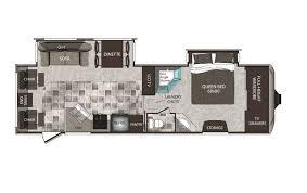 Keystone Cougar High Country 291RLS Fifth Wheel Floor Plan