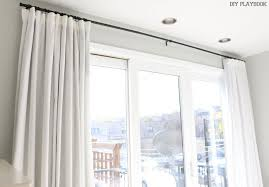 how to make diy no sew blackout curtains for your bedroom