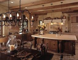 A French Country Kitchen With Old World Charm