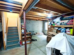 unfinished basement ideas for keeping away gloomy basement