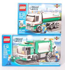 100 Lego City Tanker Truck Series Set No 4432 39Garbage 39 Set And No