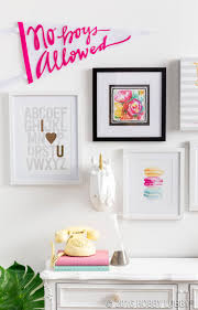 From Hobby Lobby Bring Her Bedroom To Life With A Personality Packed Gallery Wall