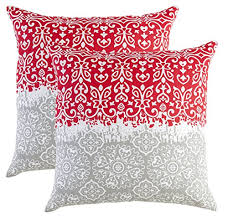 Red Decorative Pillows by Bold Vivid And Fun Red Accent Pillows Xpressionportal