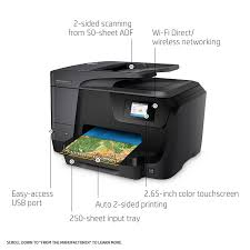 HP ficeJet Pro 8710 Wireless All in e Printer with