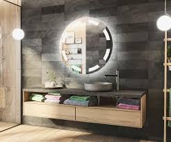 runder badspiegel mit led beleuchtung l34