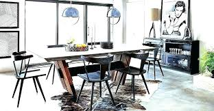 Industrial Dining Room Table Modern Sets Furniture