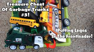 100 Garbage Truck Video Youtube Putting Legos In The Frontloader By Request