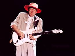 It Was White And Had A Neck Plate Which Engraved With The Phrase To Stevie Ray Vaughan More In 84