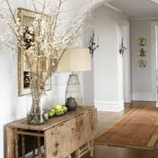 Rustic And Refined Decor Style