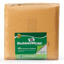 Decorative Air Bubble Mailers by Duck Brand Bubble Wrap Brand Cushioning 12