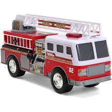 VT Mini Pumper Fire Rescue Battery Operated Bump And Go Toy Truck W ...