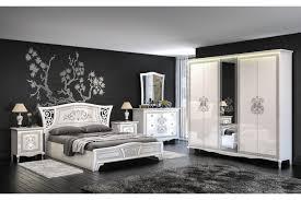 italienisches schlafzimmer vittore in weiss 6 teilig
