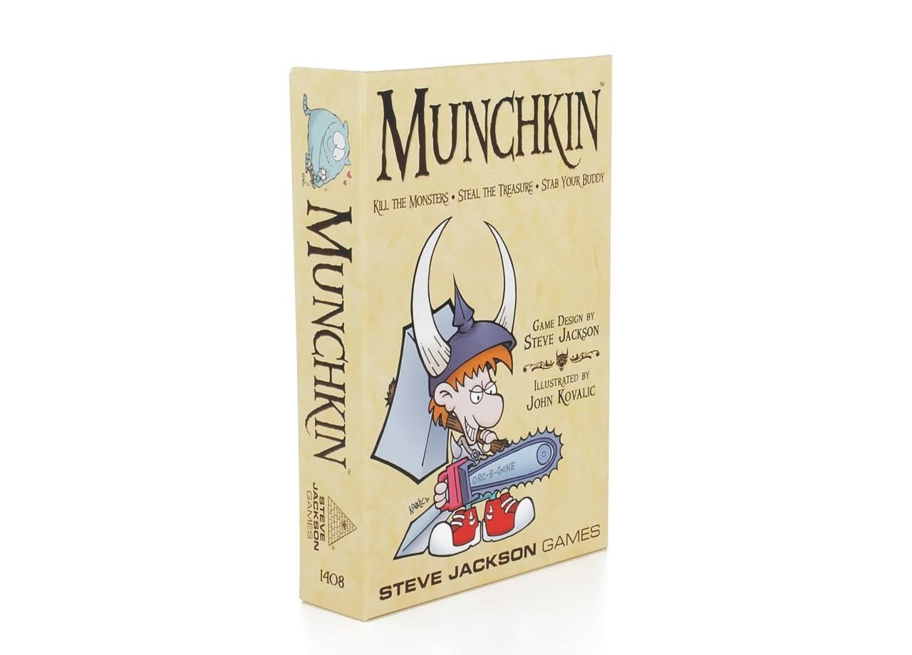 Steve Jackson Munchkin Color Card Game