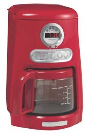 KitchenAid KCM511ER 10 Cup Programmable Coffeemaker Empire Red