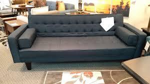 Serta Dream Convertible Sofa by Serta Dream Convertible Sofa Charcoal Fabric