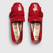 marmont patent leather mid heel pump gucci women u0027s pumps