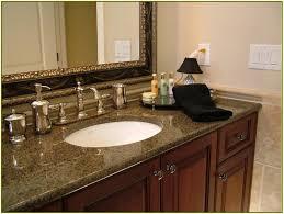 Single Sink Bathroom Vanity With Granite Top by Fascinating Lowes Granite Countertops On Bathroom Vanity Combined