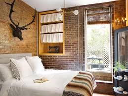 Design Pertaining To Apartment Bedroom Photos Hgtv For The Most Awesome Exposed Brick Encourage